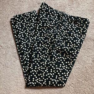 Zara Basic floral print pants